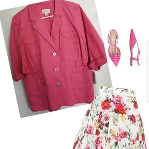 Pink Spring Jacket NWT as PL